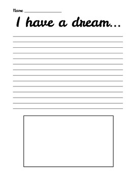 "Martin Luther King ""I have a Dream"" *FREEBIE*"