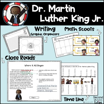 Martin Luther King Jr...... Informational Reads and Math Fun!