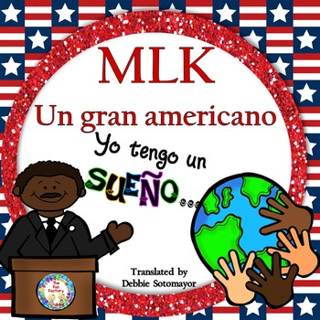 Martin Luther King Informational Teacher and Student Reader in Spanish!