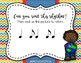 Martin Luther King Interactive Rhythm Game - Practice Syncopa