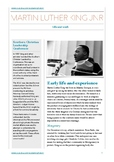 Martin Luther King Jnr Study Guide