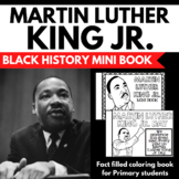 Martin Luther King Jr. Unit Mini Booklet Project - Facts and Information