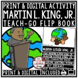 Martin Luther King, Jr. Activities Flip Book - MLK Day Activity Writing