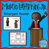 Martin Luther King Jr ESL Emergent Reader - Black History Month Activity (MLK)