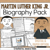 Martin Luther King Jr. Activities- Biography Pack