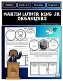 Martin Luther King Day Organizers for Black History Month