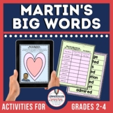 Martin's Big Words Book Companion and Lapbook