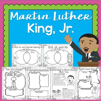 Martin Luther King, Jr. Lesson Activities for Black History Month | Grades 3-6