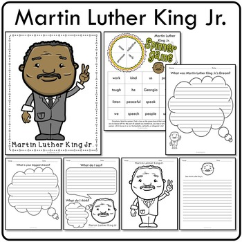 Martin Luther King Jr. Historical Figure Mini Activity Set
