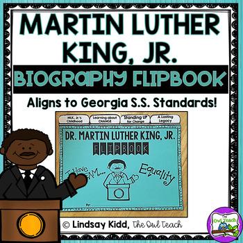 Martin Luther King, Jr. : MLK, Jr. Flipbook