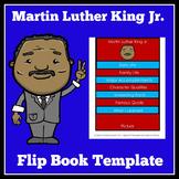 Martin Luther King Jr.   Flip Book Activity   Kindergarten