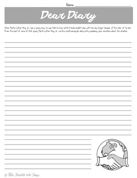 Martin Luther King Jr. Reading and Activity Pack