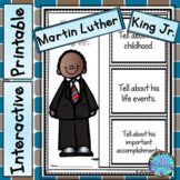 Martin Luther King Jr. Writing - Black History Month Activities (MLK)