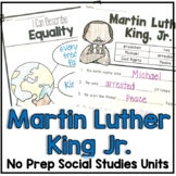 Martin Luther King Jr. Facts and Timelines
