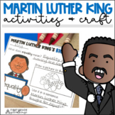 Martin Luther King Jr., MLK Day Activities, and Craft