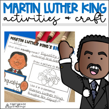 Martin Luther King Jr. Activities and Craft
