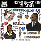 Martin Luther King, Jr. 126 Vector Graphics/ClipArt Bundle