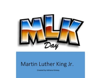 """ Martin Luther King Jr"""