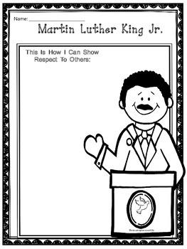 Martin Luther King Jr. Free Printable
