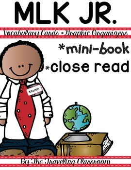 Martin Luther King Jr Close Reading Set