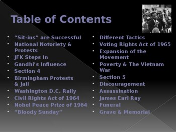 Civil Rights Movement - Key Figures - Martin Luther King Jr