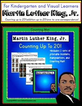 Martin Luther King, Jr. COUNTING UP TO 20 Kindergarten/Spe