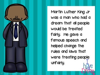Martin Luther King Jr l MLK Activities