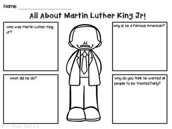 Martin Luther King Jr l MLK Activities VA SOL 2.4j