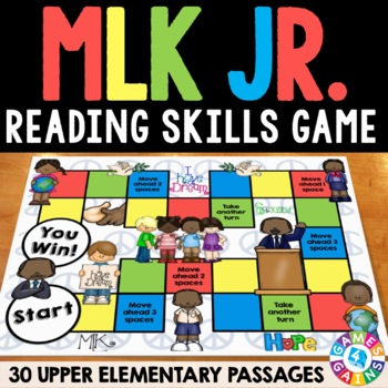 Martin Luther King Jr Activity: MLK Day Reading Game