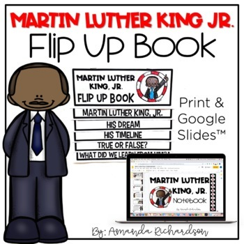 Martin Luther King Jr Flip Up Book