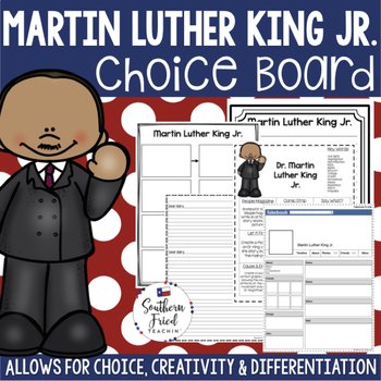 Martin Luther King Jr Choice Board