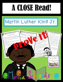 Martin Luther King Jr.: A Close Read