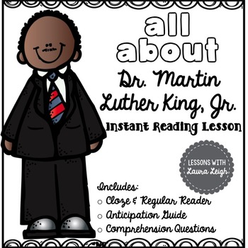 Martin Luther King, Jr. Instant Reading Lesson