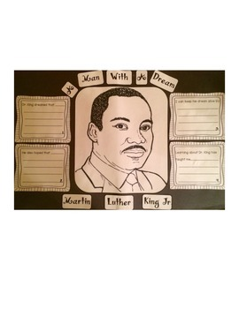 Martin Luther King, Jr. A Man With A Dream Craftivity