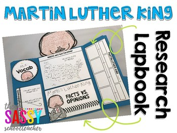 Martin Luther King Jr. A Research Project