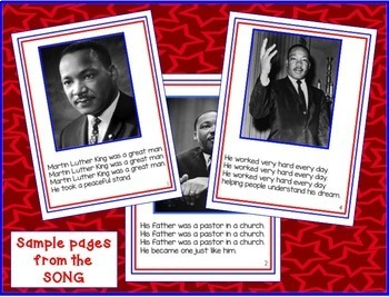 Martin Luther King Jr. : Close Reading, Song, & Activities!