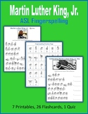 Martin Luther King, Jr. (ASL Fingerspelling)