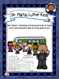 Martin Luther King Jr. Mini Book and Reading Comprehension Set