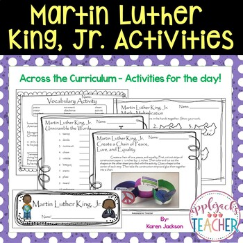 Martin Luther King, Jr. - Across the Curriculum - Common Core Curriculum