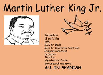 Martin Luther King Jr. Actividades