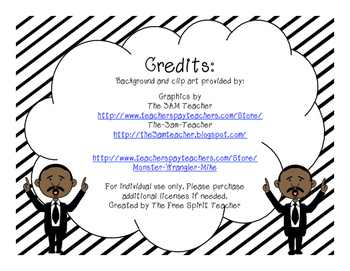 Martin Luther King Jr. Activities