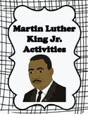 MLK Day- Martin Luther King Jr. Printables