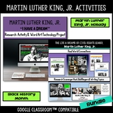 Martin Luther King, Jr. Activities Bundle - Black History Month