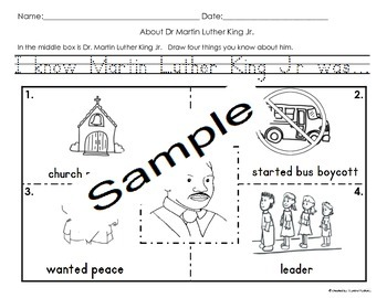 Martin Luther King Jr Activities Bundle Cscope Common Core