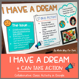 Martin Luther King Jr. Activities | I Have a Dream Writing | Google Classroom
