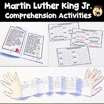 Martin Luther King, Jr. Activities Reading Comprehension