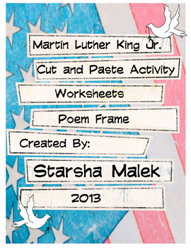 Martin Luther King Jr. Activities (S.Malek Freebie)