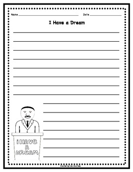 Martin Luther King Jr. Activities - Timeline, Writing, Poster, Poem...