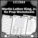 Black History Month Writing Activities, Word Search, Letter Writing Worksheets