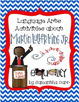 Martin Luther King, Jr. Activities for Grades 3-5!